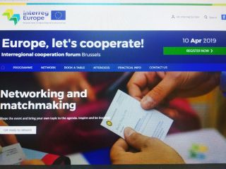 "Notiks Interreg Europe programmas forums ""Europe, let's cooperate!"""